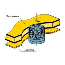 Фрезы насадные для торцевой обработки ламинированных плит по шабону 01.15 - 2