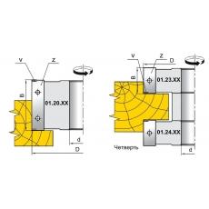 Фрези для вибірки чверті, пазів, для обробки шипів з фасками та крайок - 2