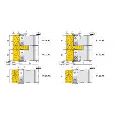 Фрези для вибірки чверті, пазів, для обробки шипів з фасками та крайок - 3