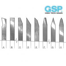 Ножі дискові для різання тканини та текстилю CRV, HSS - 5