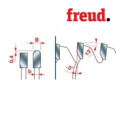 Пили дискові для різання масивного пластику LU4A Freud - 2
