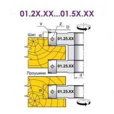 Фрези для вибірки чверті, пазів, для обробки шипів з фасками та крайок