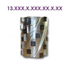 Фрезы насадные шейпер для плоского и криволинейного строгания по шаблону 13