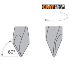 Свердла наскрізні чотирьохфлейтні серії 374/375 CMT - 3