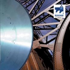 Пилы дисковые для сухой резки стальных труб профилей фрикционные CRV