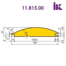 Фрезы для профилирования облицовочной доски типа блокхаус 11.815.00