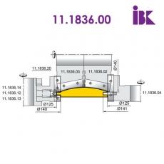 Фрезы для профилирования облицовочной доски типа блокхаус 11.1836.00 - 2