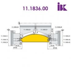 Фрезы для профилирования облицовочной доски типа блокхаус 11.1836.00 - 3