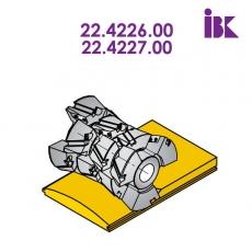 Фрези для профілювання облицювальної дошки типу блокхаус 22.4226.00, 22.4227.00 - 2