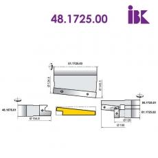 Фрезы для профилирования облицовочной доски типа блокхаус 48.1725.00 - 2