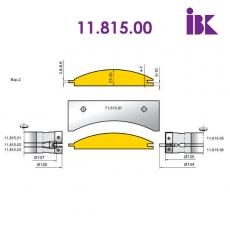 Фрезы для профилирования облицовочной доски типа блокхаус 11.815.00 - 3