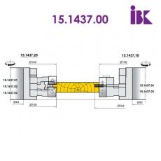 Комплект фрез для профілювання паркету  15.1437.00 - 2