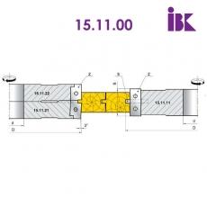 Комплект фрез для профілювання паркету (S=4mm) - 2
