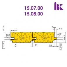 Комплект фрез для профилирования паркета (стандарт DIN 280)
