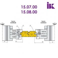 Комплект фрез для профилирования паркета (стандарт DIN 280) - 2