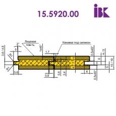 Комплекты фрез для профилирования паркетной доски 15.5920.00