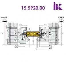 Комплекти фрез для профілювання паркетної дошки 15.5920.00 - 2