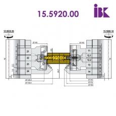 Комплекти фрез для профілювання паркетної дошки 15.5920.00 - 3