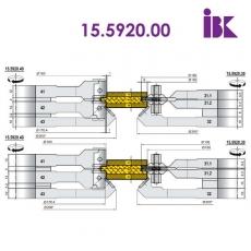 Комплекти фрез для профілювання паркетної дошки 15.5920.00 - 4