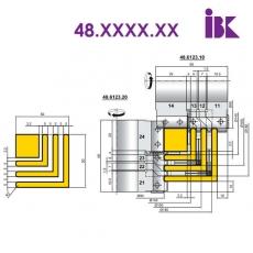 Комплекты фрез для профилирования погонажных изделий 48.XXX.XX