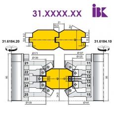Комплекты фрез для профилирования бруса 31.XXXX.XX - 2