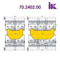 Комплект фрез для профілювання бруса 70.2402.00 - 2