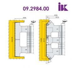 Комплект фрез для вирізування будівельного бруса