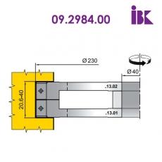 Комплект фрез для вирізування будівельного бруса - 2