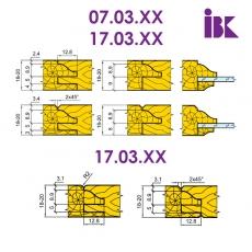 Комплект насадних фрез для виробництва меблевих фасадів 07.03/04.XX - 2