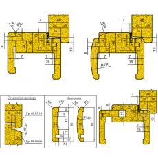Комплект универсальных фрез для изготовления дверной коробки - 3