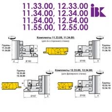 Комплекты фрез для профилирования радиусной вагонки - 2
