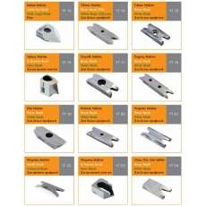Ножі зачисні для зняття зварних швів HSS - 3