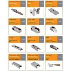 Ножі зачисні для зняття зварних швів HSS - 5