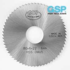 Пили дискові пазові прорізні по металу DIN 1837 A дрібний зуб HSS і VHM