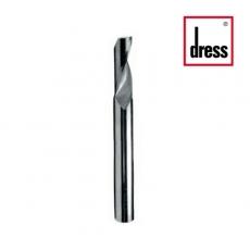 Фрези кінцеві двоканальні з пазами для дренажних отворів ступінчасті Dress