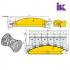 Фрези для профілювання облицювальної дошки типу блокхаус 22.4226.00, 22.4227.00 - 5