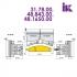 Фрезы для профилирования облицовочной доски типа блокхаус 31.78.00, 48.843.00 - 2