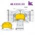 Комплекты фрез для профилирования погонажных изделий 48.XXX.XX - 2