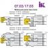 Комплект насадних фрез для виробництва меблевих фасадів 07.03/04.XX - 5