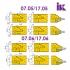 Комплект насадних фрез для виробництва меблевих фасадів 07.05/06.XX - 2