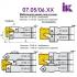 Комплект насадних фрез для виробництва меблевих фасадів 07.05/06.XX - 6