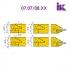 Комплект насадних фрез для виробництва меблевих фасадів 07.07/08.XX - 2