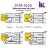 Комплект насадних фрез для виробництва меблевих фасадів 07.09/10.XX - 3