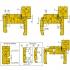 Комплект універсальних фрез для виготовлення дверної коробки - 3