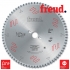 Пилы дисковые для профиля алюминия и ПВХ стенка 2-10 мм позитивный зуб LU5A