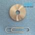 Пили дискові пазові прорізні по металу DIN 1837 A дрібний зуб HSS і VHM - 4